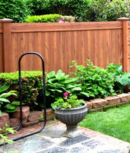 Cedar Vinyl Privacy Fences