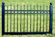 Black Vinyl Fence 4 ft x 6ft  BSL71