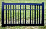 Black Vinyl Fence 4 ft x 6ft BSL6264