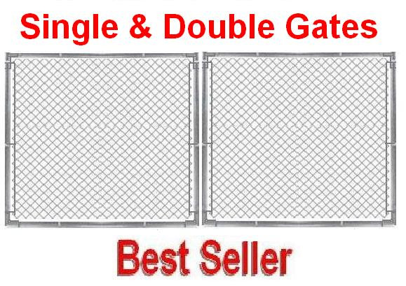 10 ft Galvanized Commercial 1-5/8\
