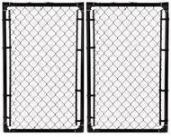 4 ft High x 6 ft Wide Double Gate Kit with Hardware