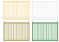 Aluminum Fence Panels - Wrought Iron - Pool Guard Color