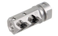 Fortis Manufacturing Muzzle Brake 5.56mm NATO 1/2x28 TPI Crush Washer Included 303 SS