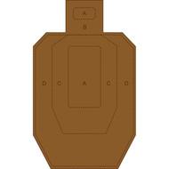 IPSC/USPSA Cardboard Torso Target