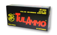 TulAmmo .45 ACP Ammunition 50 Rounds, FMJ, 230 Grains