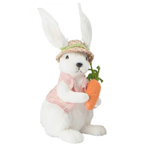 Spring Bunny Boy with Carrot