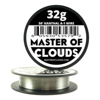 50 ft - 32 Gauge AWG A1 Kanthal Round Wire