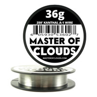 250 ft - 36 Gauge AWG A1 Kanthal Round Wire