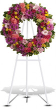 Funeral Wreath - Washington DC - Rockville MD – Palace Florists