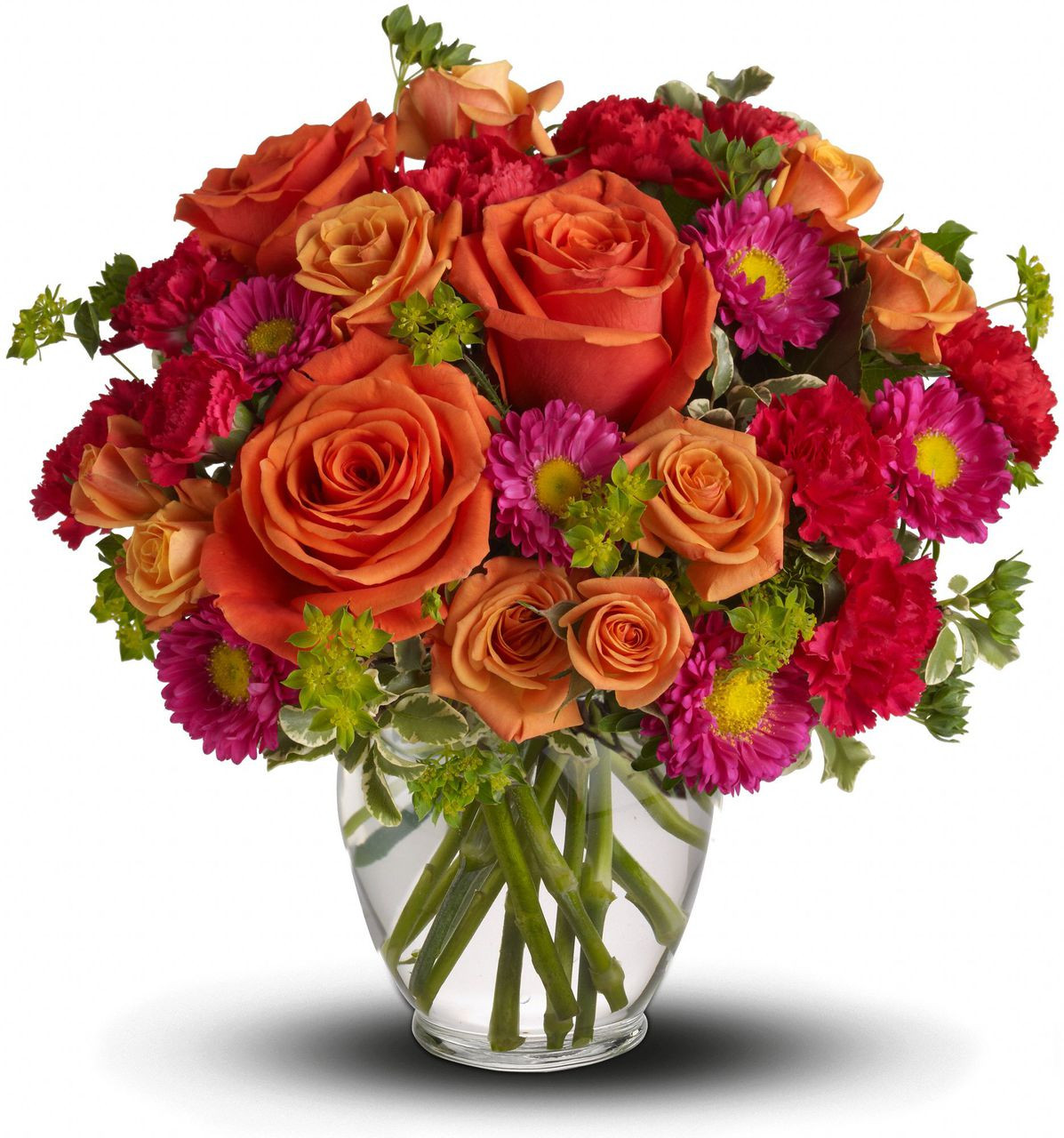 Florist delivery washington dc rockville bethesda potomac how sweet it is with a mix of hot pink red and coral flowers such mightylinksfo