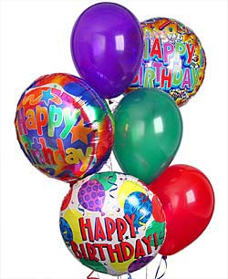 birthday balloon bouquet in washington dc and rockville md