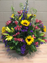 Flower Arrangement in Ginger Jar - Washington DC – Palace Florists
