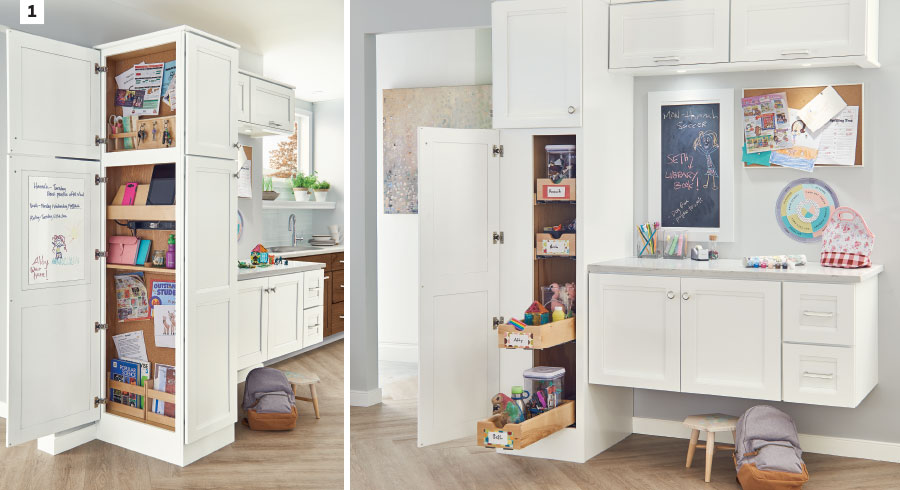 KraftMaid Cabinetry - Kids' Zone Cabinets