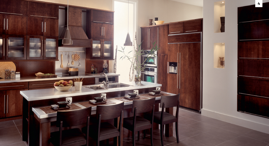 TOP 5'S: KRAFTMAID'S MOST POPULAR KITCHEN CABINET STAINS ...