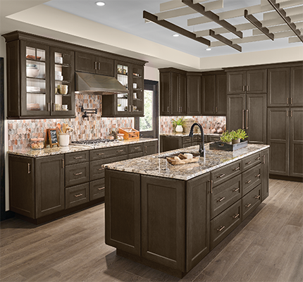 kitchen planning kraftmaid cabinetry rh kraftmaid com Layouts with Island Stove in Kitchen images of kitchen cabinet layouts