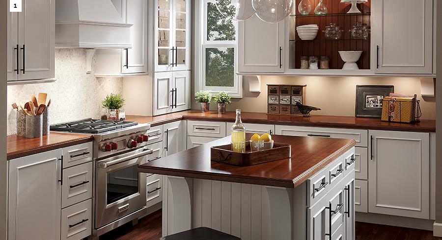 popular kitchen layouts the l shaped kitchen kraftmaid