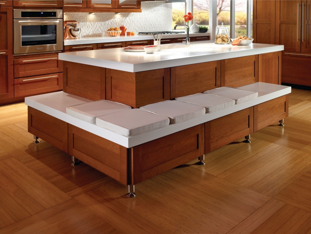 5 benefits of kitchen islands kraftmaid