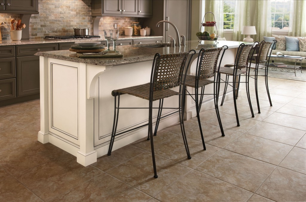 5 benefits of kitchen islands kraftmaid for Rolling kitchen island with seating