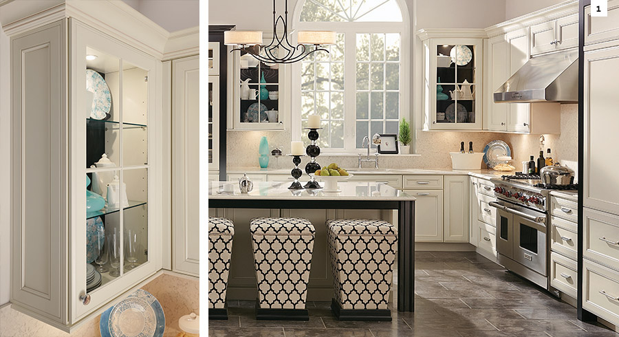 10 Kitchen Cabinet Tips: Small Kitchen Ideas : 7 Tips To Make Small Kitchens Feel
