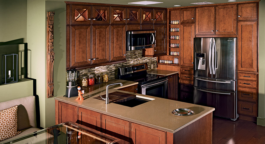Tiny Kitchen Design Ideas For Small: Small Kitchen Ideas : 7 Tips To Make Small Kitchens Feel