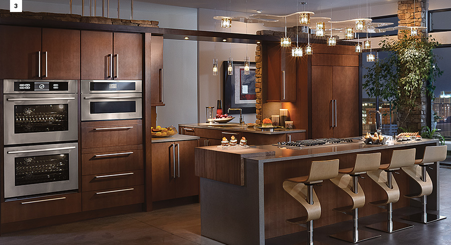 4 Unique Ways To Use Cherry Cabinets In Your Kitchen