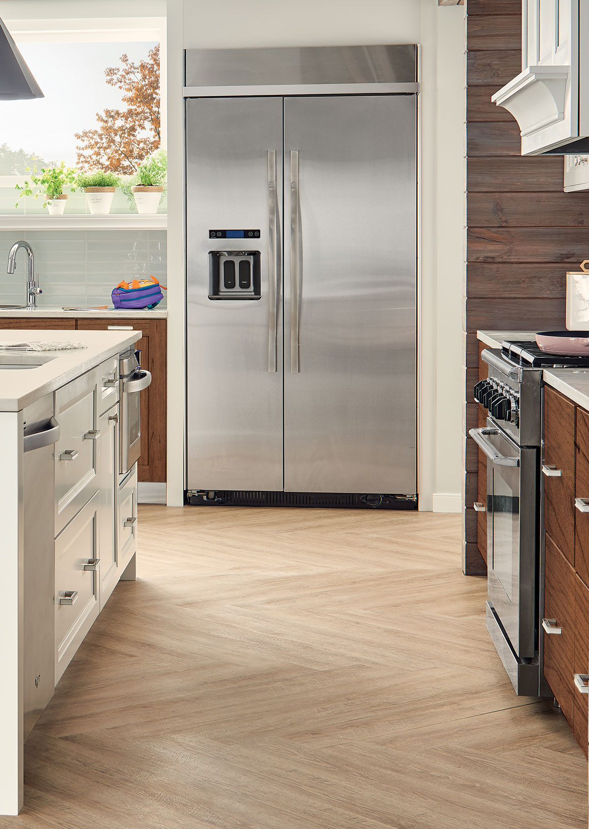 Investing in a New Kitchen. Installing cabinets first lends to less flooring ... & KraftMaid