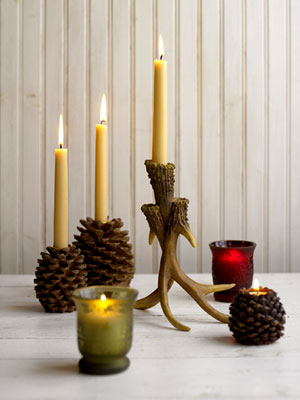 KraftMaid Country Rustic Holiday Design