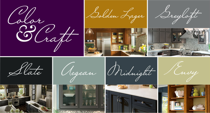 Color and Craft KraftMaid Cabinetry Facebook giveaway
