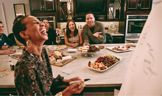 Kraftmaid Designing For Life A Quot We Entertain Three Times