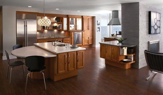 Maple Kitchen In Praline Kraftmaid