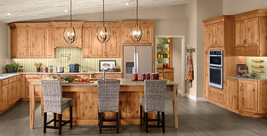 Rustic Alder Kitchen in Natural