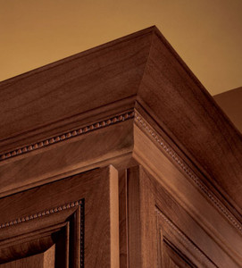 Large Federal Molding with Starter Molding and Center Bead Insert Detail