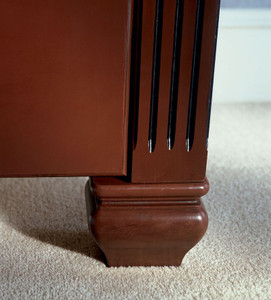 Cove Leg shown with Fluted Column