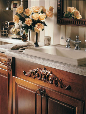 Kitchen Islands With Overlays And Appliques