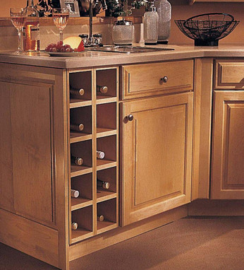 wine storage kitchen cabinet base wine rack cabinet kraftmaid 29320