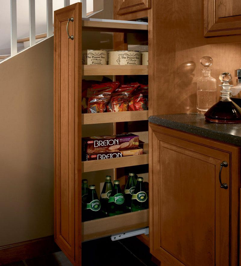 Kraftmaid Kitchen Cabinet Sizes: KraftMaid Tall Pantry Pull-out