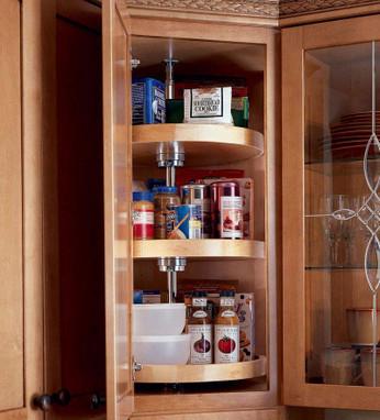 wall angle w lazy susan kraftmaid rh kraftmaid com upper cabinet lazy susan system Upper Corner Cabinet Lazy Susan