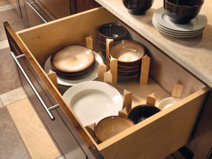 Pegged Drawer Organizer.