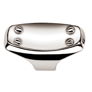 Jericho Knob - Polished Chrome