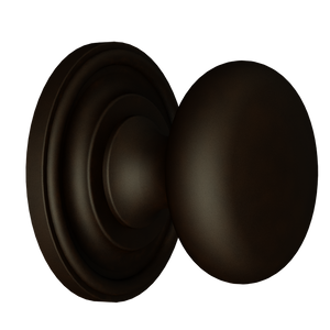 Solid Brass Bronze Finish Knob
