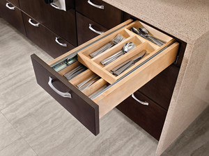 Wood Tiered Drawer Storage Kit