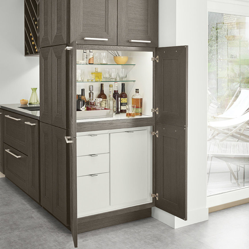 Stacked Cocktail Cabinet Kraftmaid