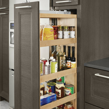 pull out pantry cabinet kraftmaid pantry pull out 24987