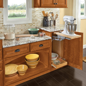 Baking Station with Base Mixer Shelf