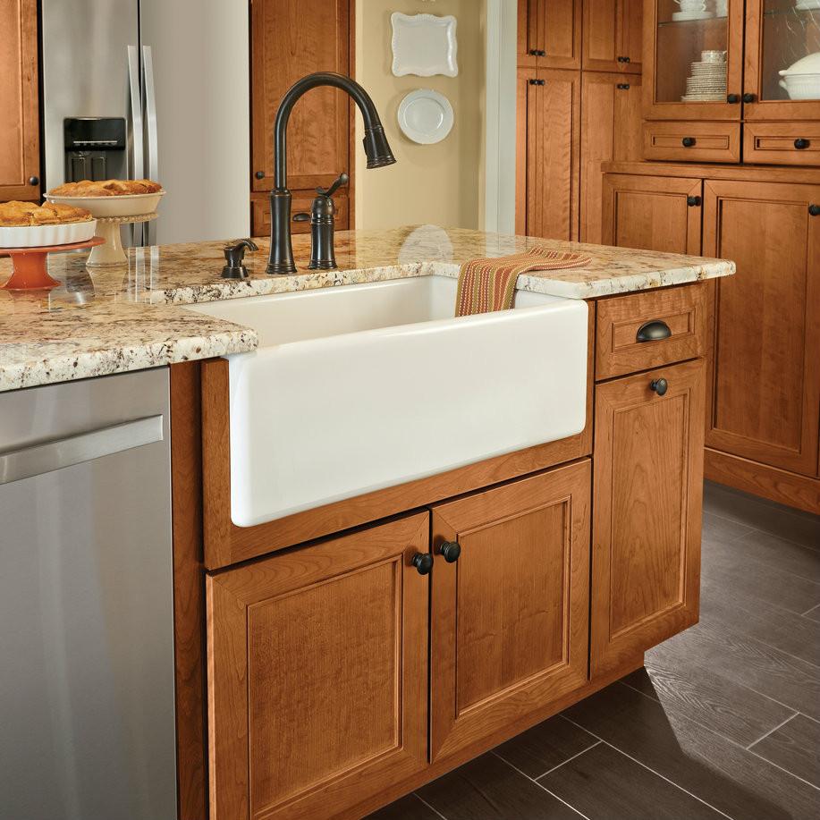 Installing Kitchen Base Cabinets: Apron-Front Sink Base