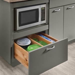"Base Microwave Cabinet 24"""