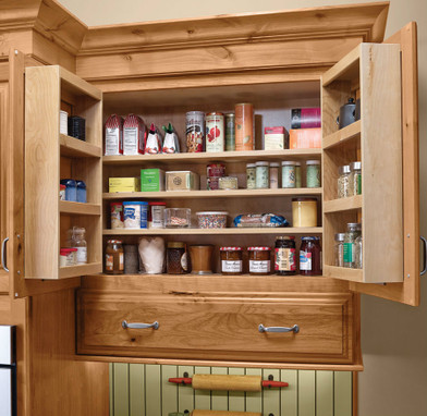 kitchen storage wall wall multi storage pantry kraftmaid 3199