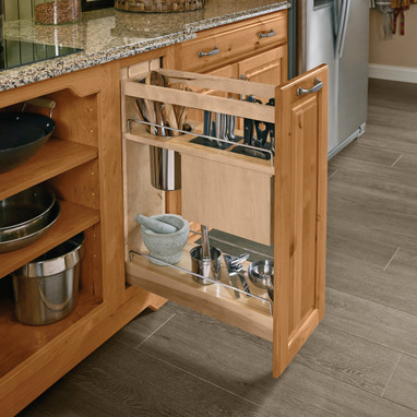 Charmant Base Pantry Pull Out Utensil Storage