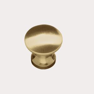 Brushed Brass Tapered Knob