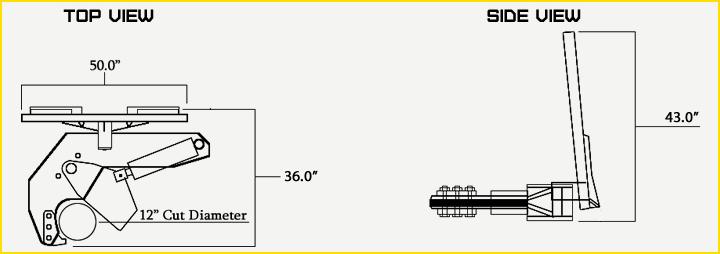 non-rotating tree shear specs